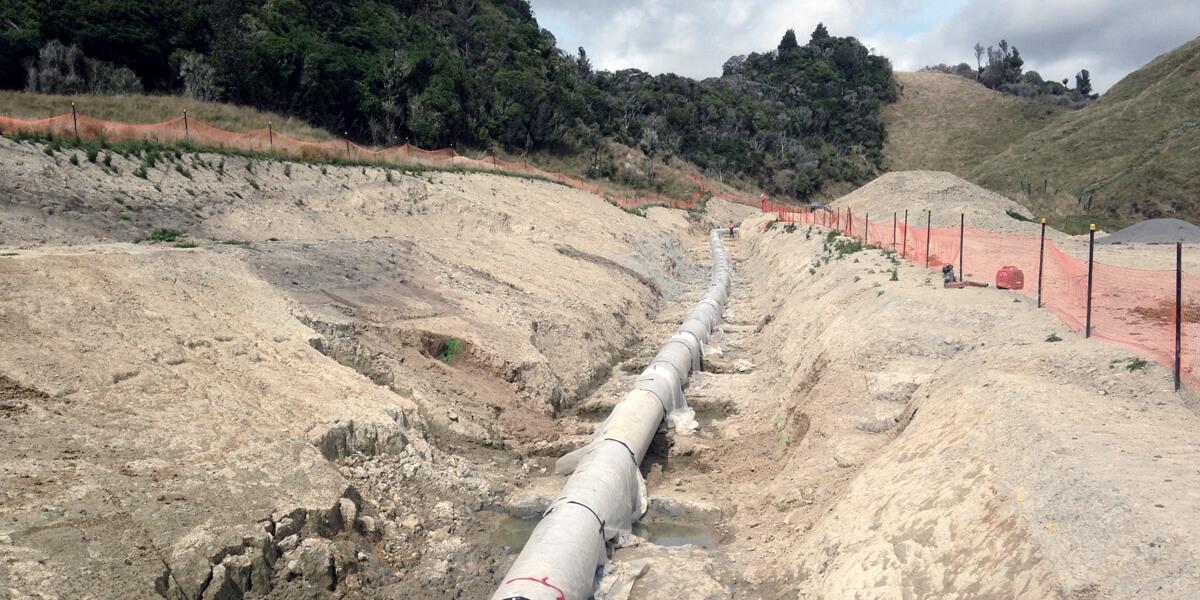Pukearuhe Gas Pipelines