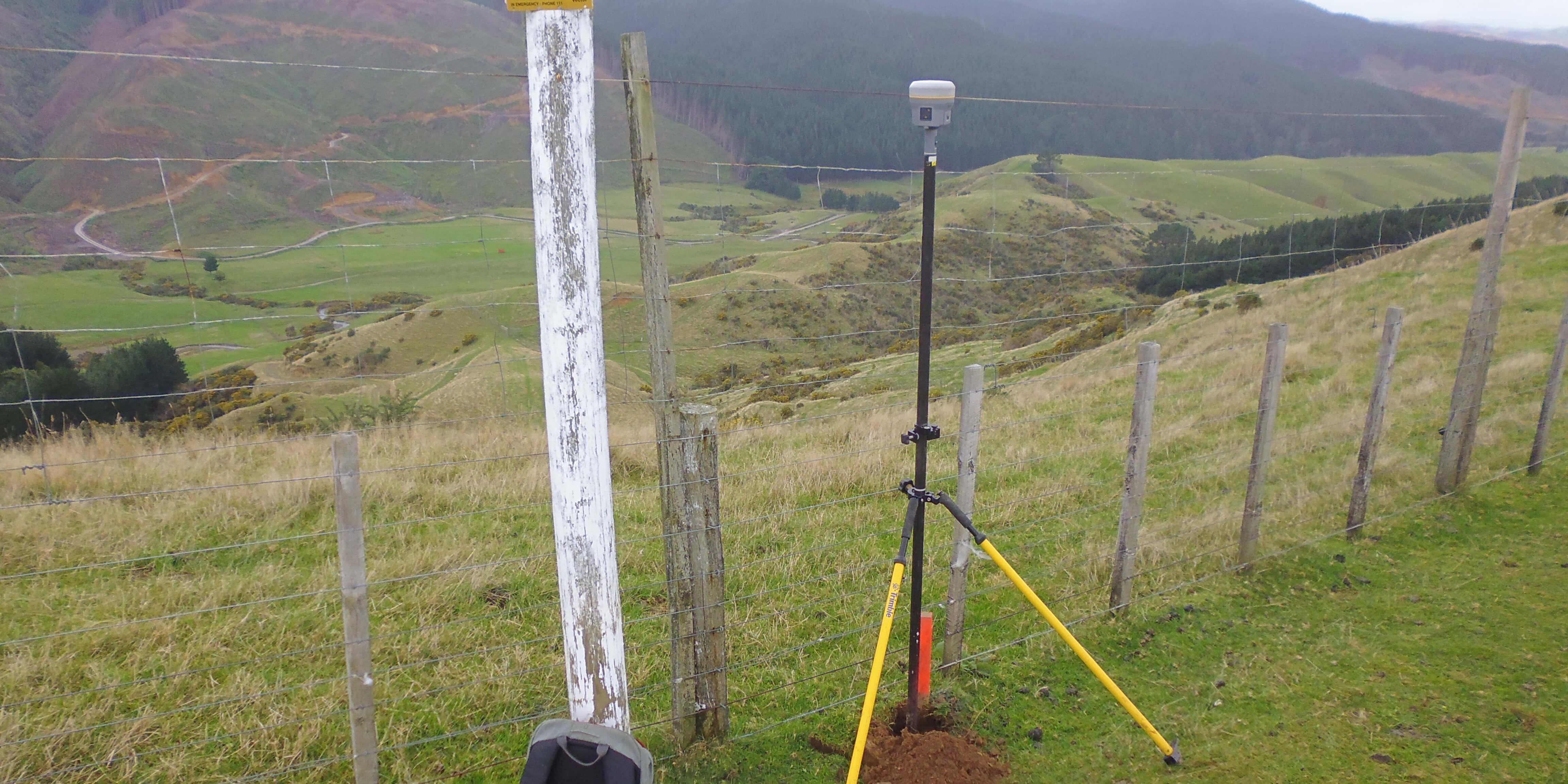 GPS Surveying Pipeline Surveying