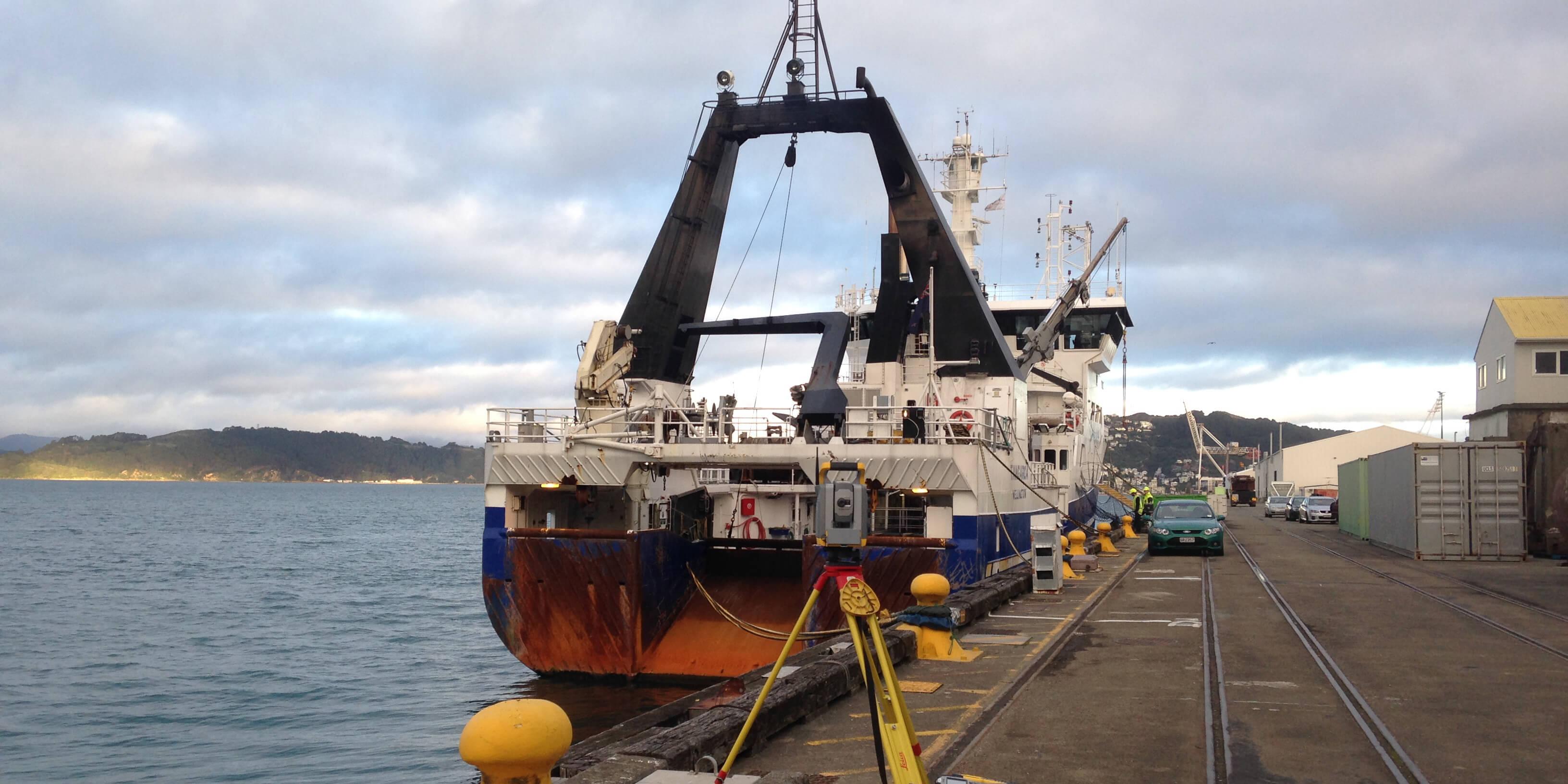Vessel Calibrations Total Station Surveying